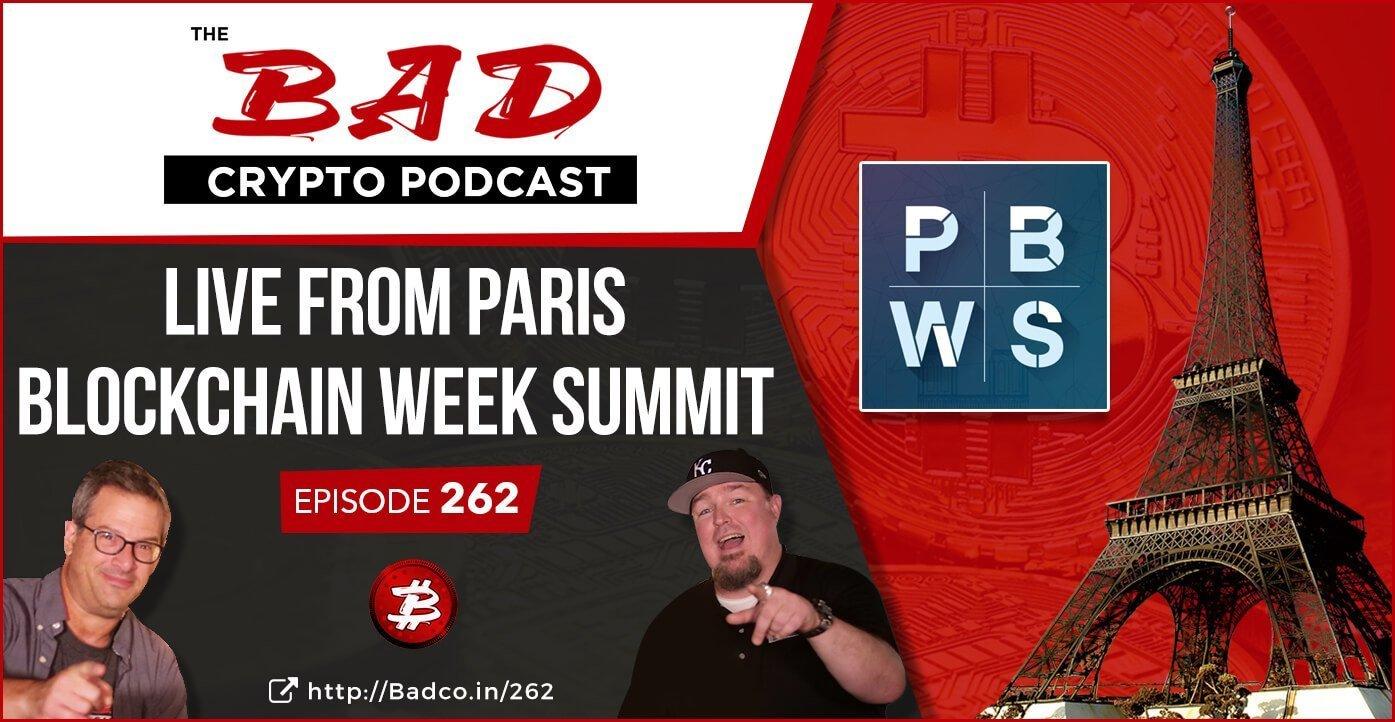 Live from Paris Blockchain Week Summit